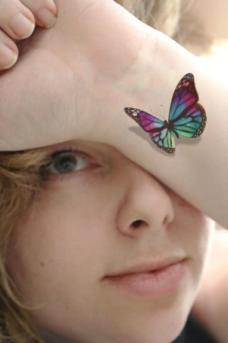 tatuaje-mariposa-3d