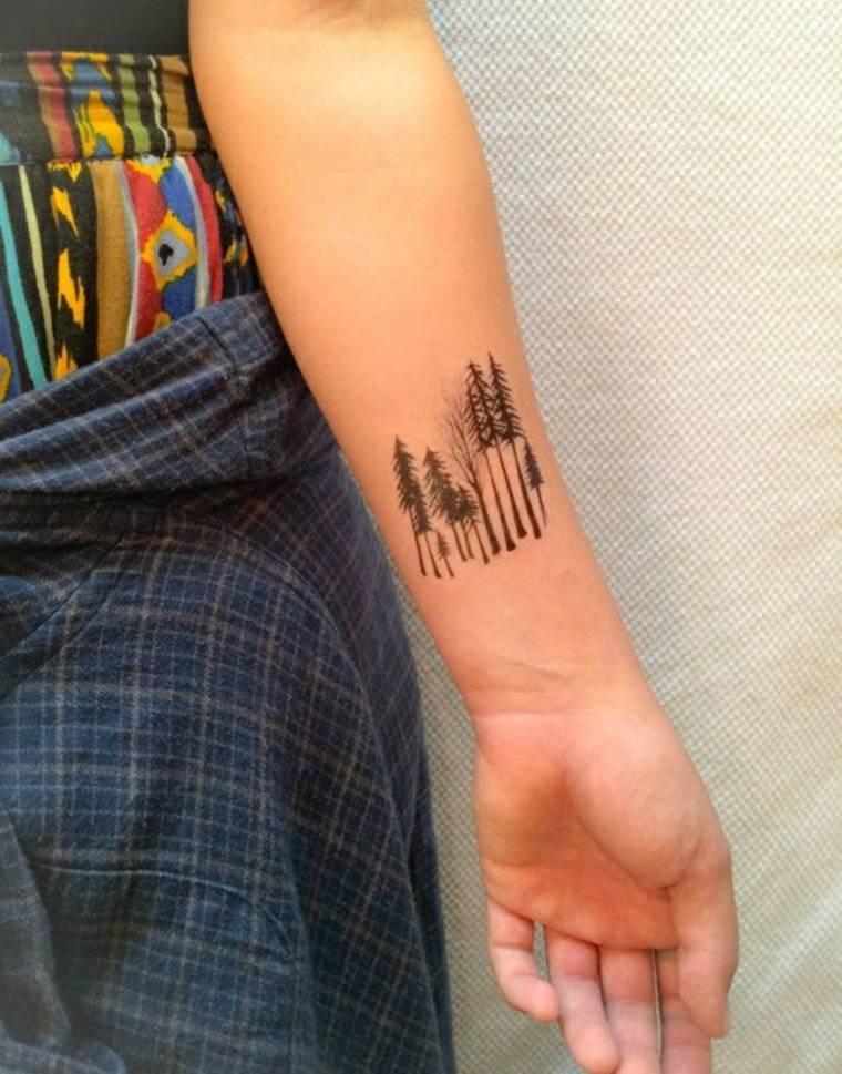 tatuajes-pequeños-árboles