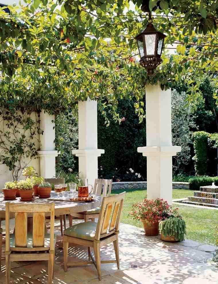 terrazas y patios elegantes