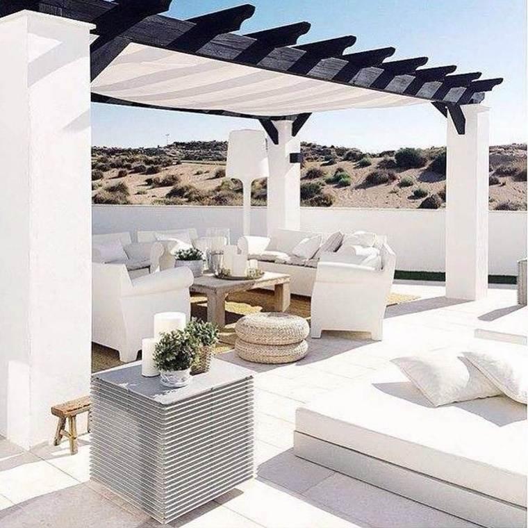 estupenda terraza