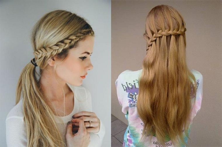 Peinados Faciles Para Chicas Jovenes Tendencias Primavera Verano