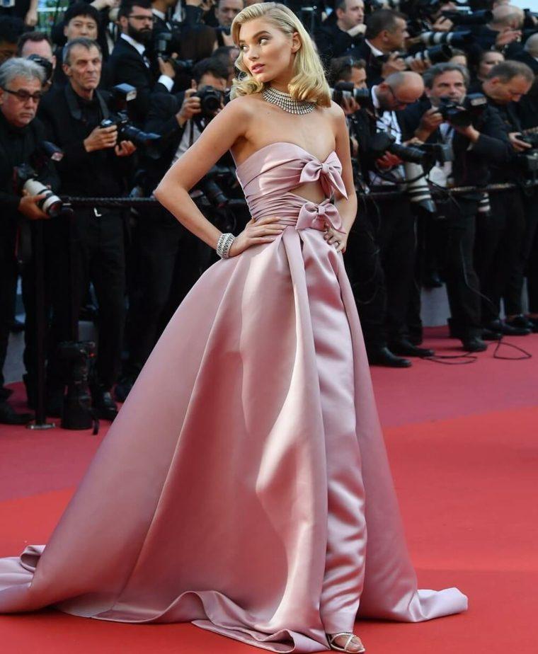vestidos-modernos-festival-cine-frances-Elsa-Hosk-vestido-Alberta-Ferrett