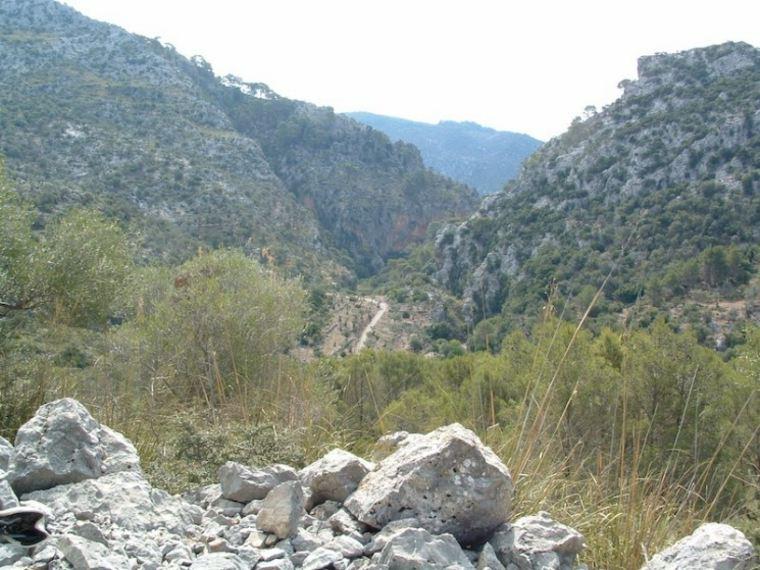 vistas del paisaje de Alaro