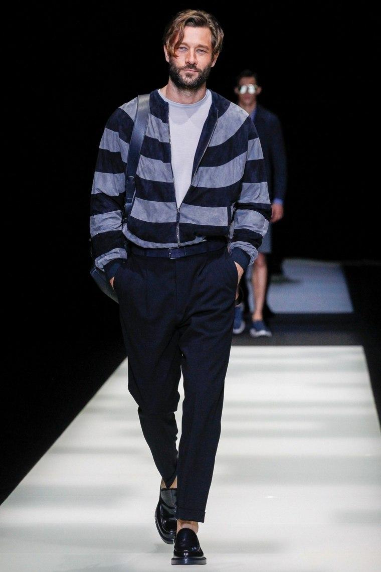 Giorgio-Armani-diseno-moderno-chaqueta-rayas