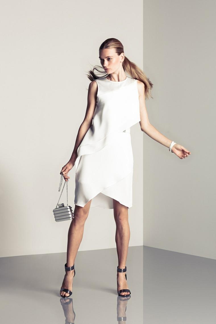 Halston-Heritage-vestido-moderno-blanco