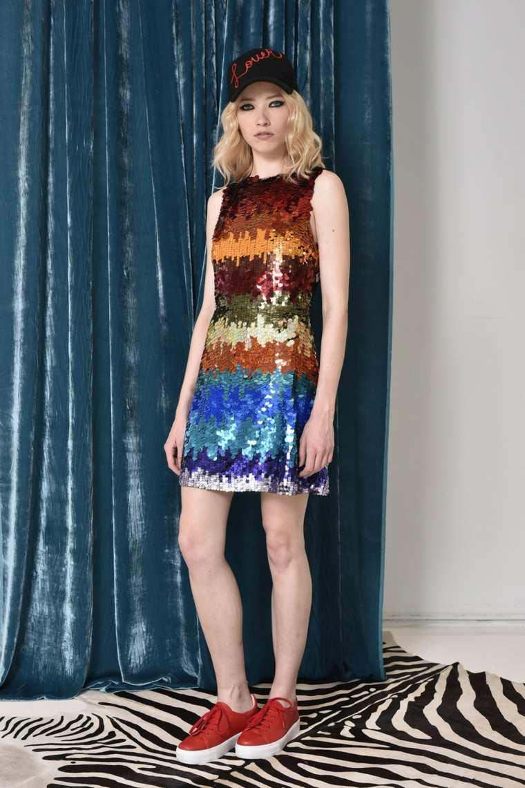 alice-and-olivia-vestido-corto-colorido