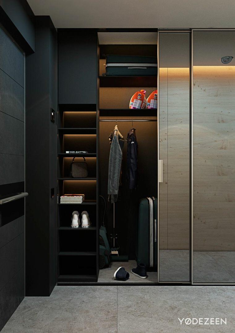 armario-con-iluminación-escondida