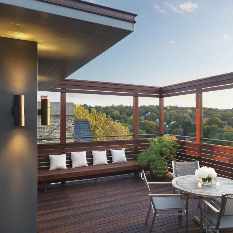 originales diseños de balcones