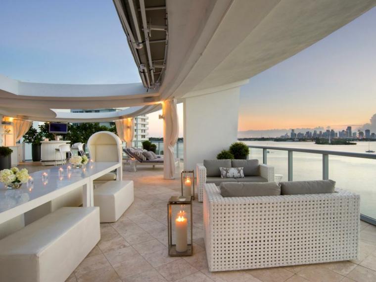 Diseñar una terraza de lujo