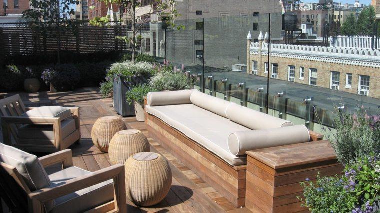 bonitas azoteas con terrazas