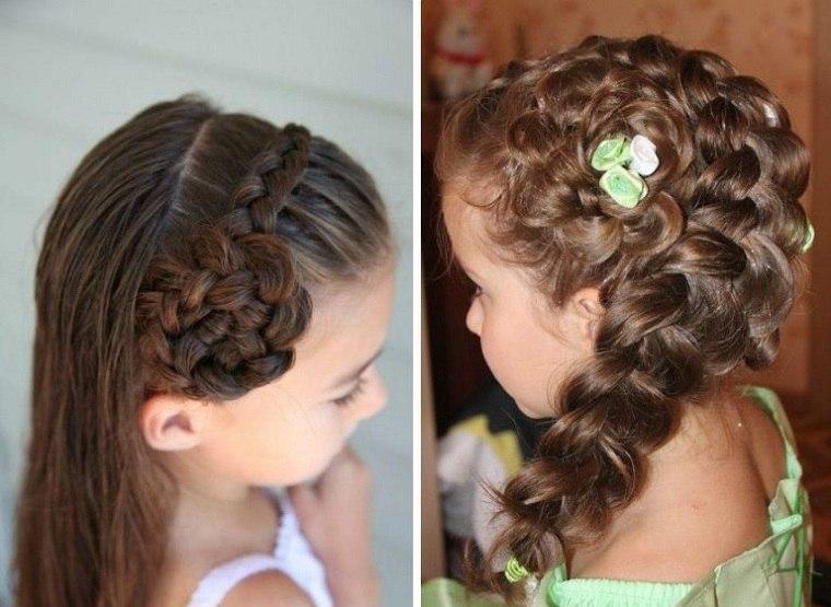 bellos-peinados-ninas-de-lado-opciones