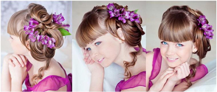 bellos-peinados-ninas-flores-originales