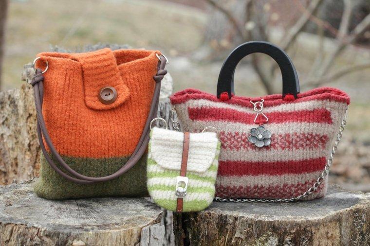 diseños de bolsos de ganchillo
