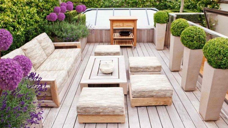 jardines modernos y elegantes