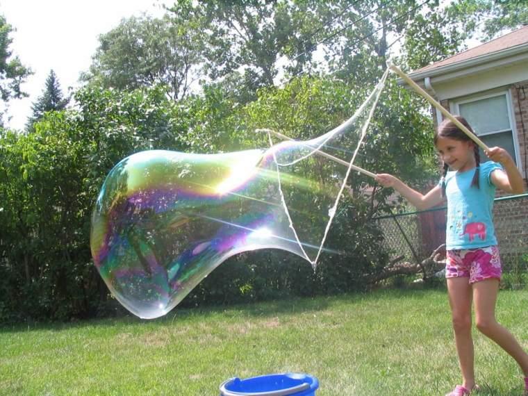 burbujas de jabón gigantes-foto