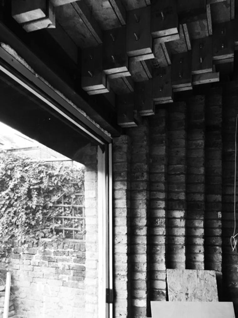 fachada escalones