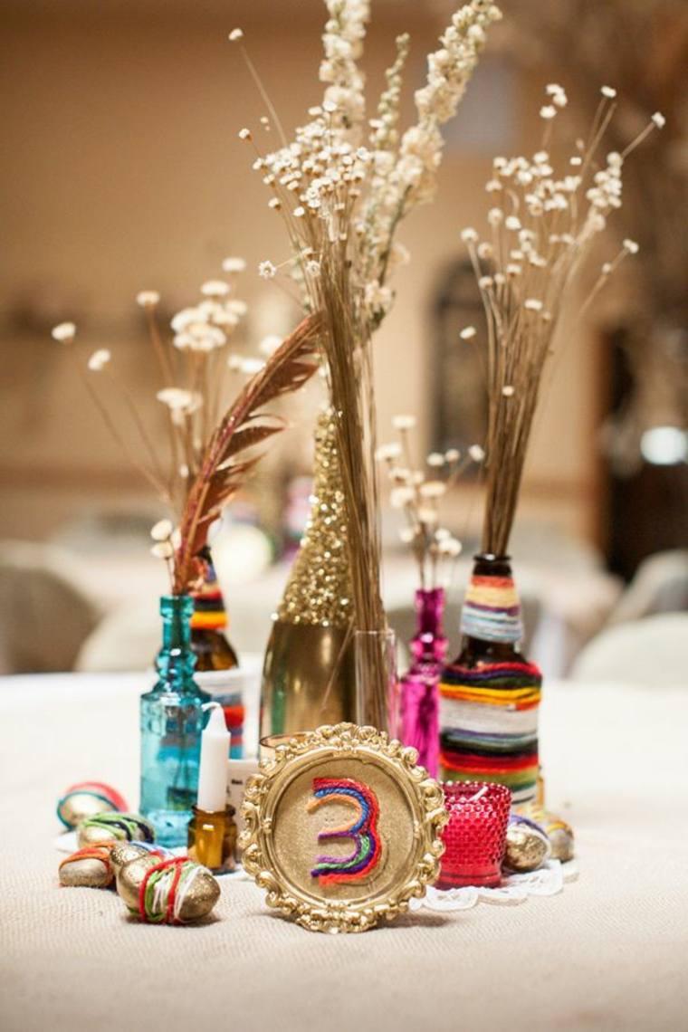 decoración de boda boho