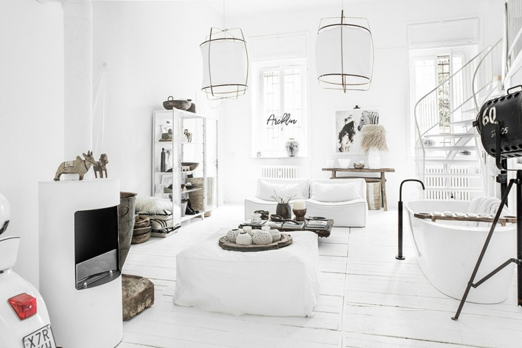 chimenea-blanca-decoratia-moderna