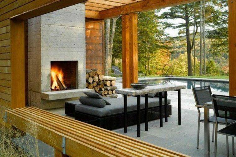 Tamaño de las chimeneas exteriores