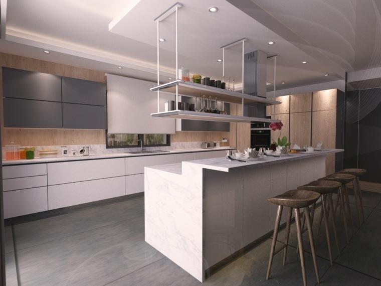 cocina-diseno-isla-barra-estilo