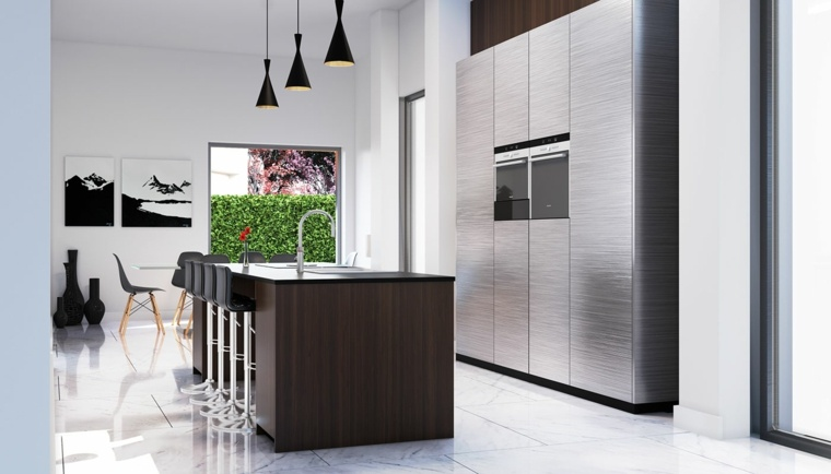 cocina-moderna-estilo-simple-isla-madera