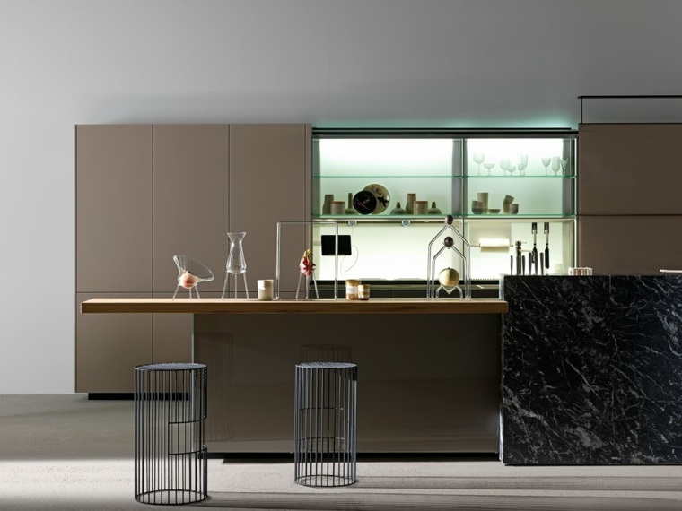 cocinas modernas-salpicaderos-elegantes