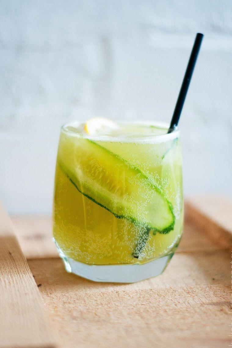 cocteles-sin-alcohol-recetas-interesantes-limonada-pepino