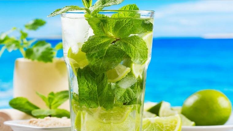 cócteles sin alcohol recetas-mojito