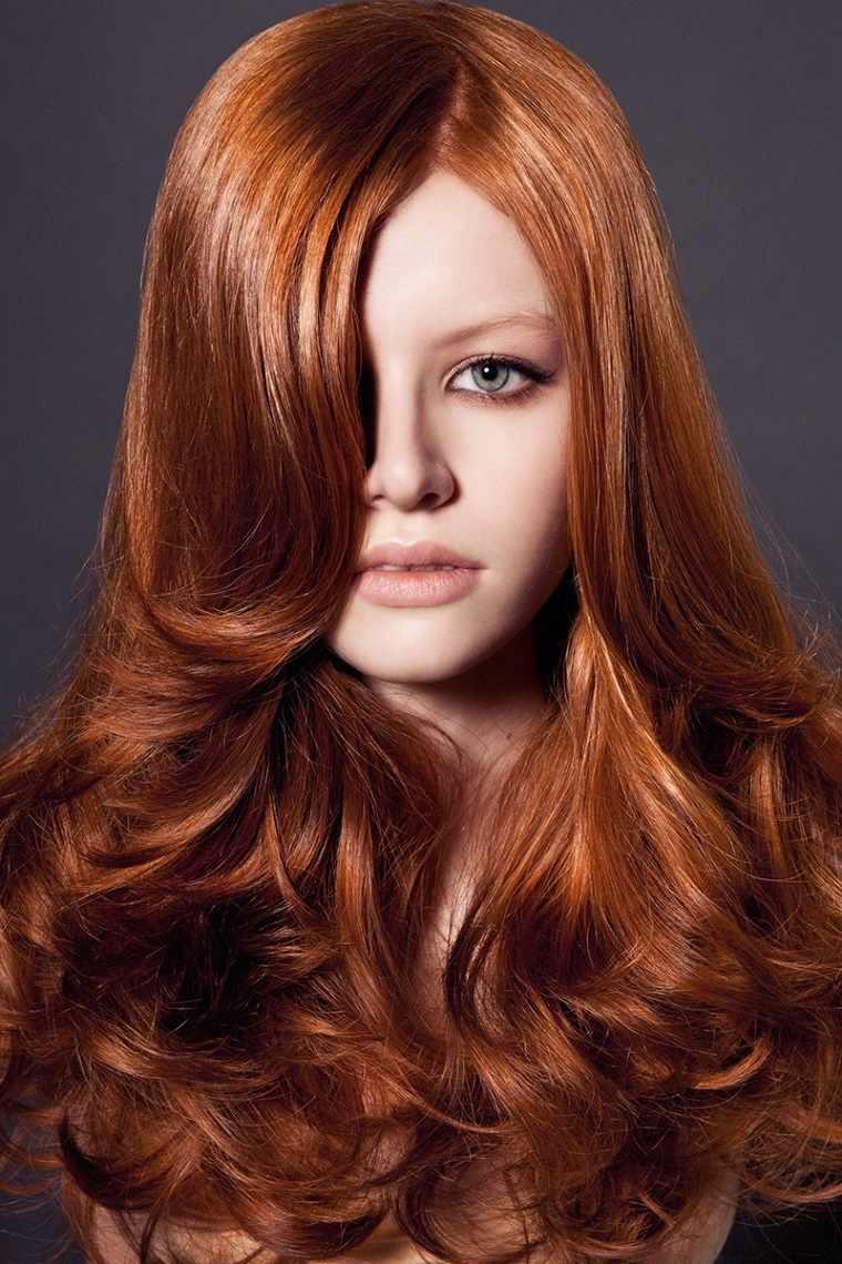 colores-de-cabello-de-moda-2018-ideas-rojo-jengibre