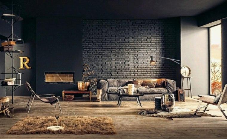 colores para interiores-modernos-elegantes-negro