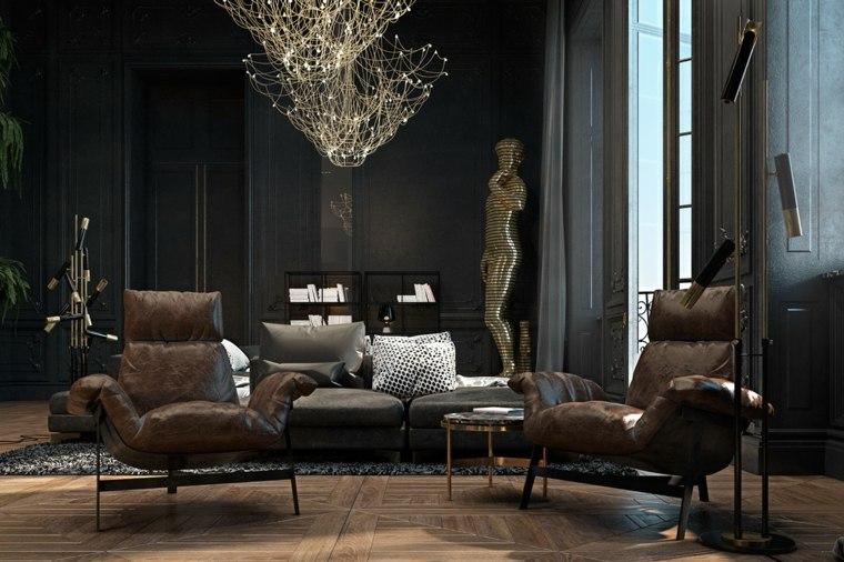 colores para interiores-modernos-elegantes