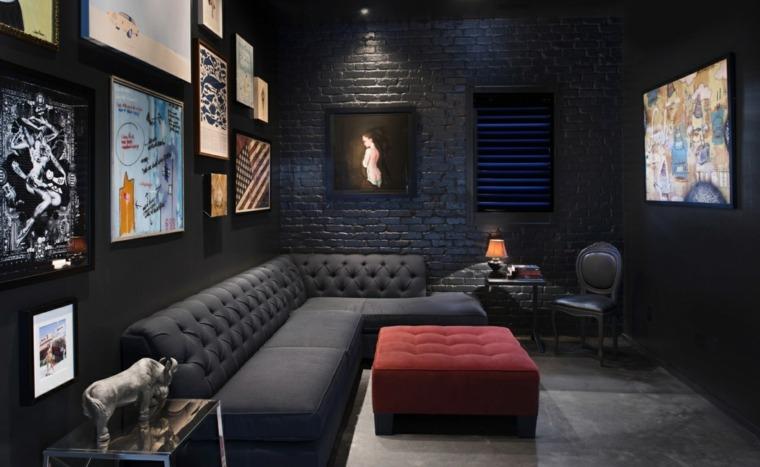 colores para interiores-negro-decoracion