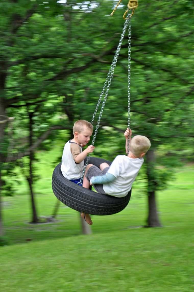 parque infantil Diy en casa