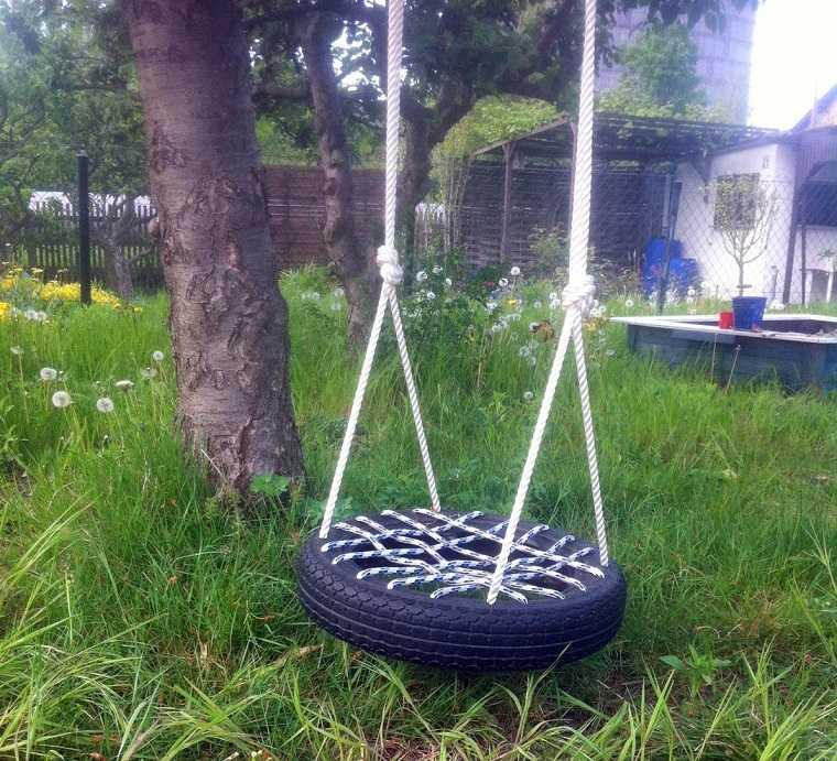columpios-jardin-opciones-neumatico-ideas-originales