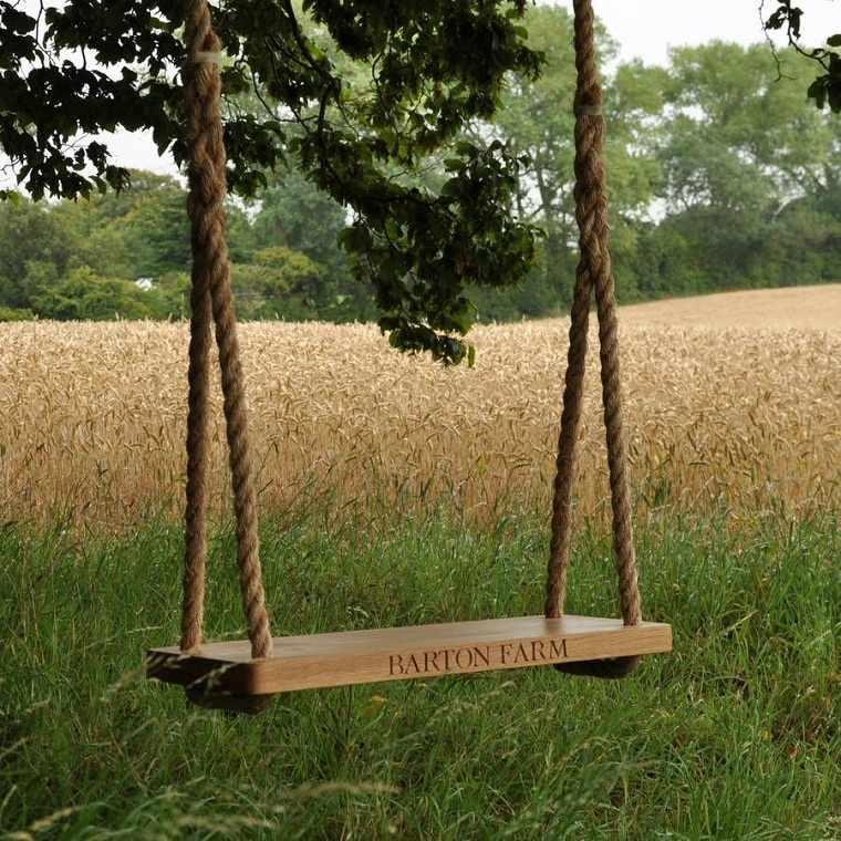 columpios para jardín-disenos-originales