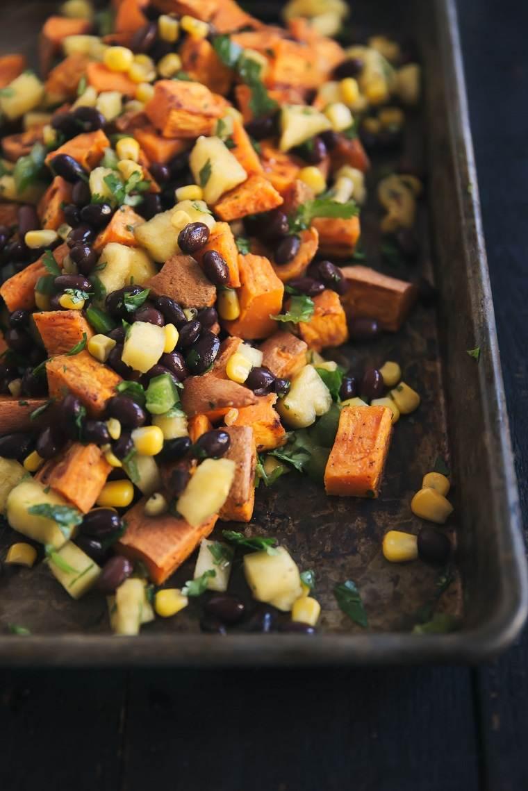 comida-vegana-recetas-faciles-opciones-patata-dulce-brocoli-opciones
