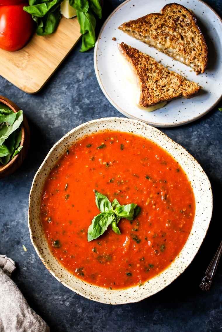 comida-vegana-recetas-faciles-sopa-tomate-rica