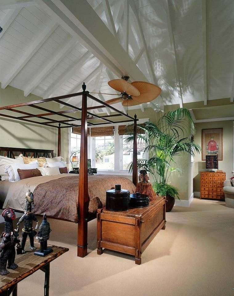 cómo decorar una recámara estilo-tropical-moderno-estilo