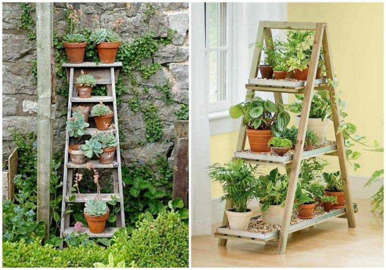 como hacer un jardin-vertical-casa-pequena
