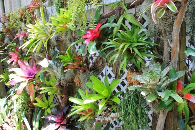como hacer un jardin-vertical-flores