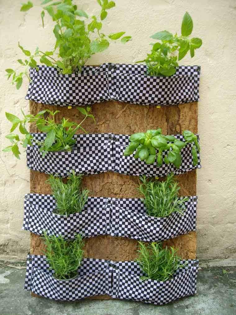 como hacer un jardin-vertical-ideas-originales