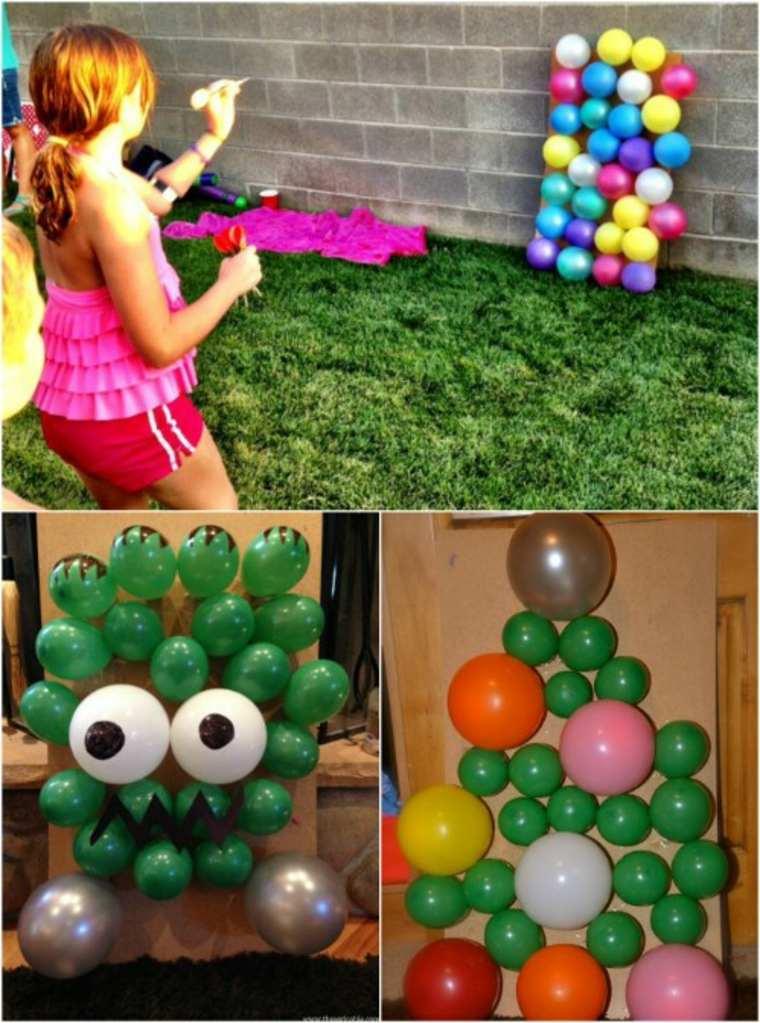 Dardos con globos