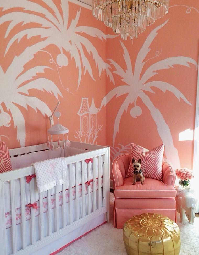 decoración de cuarto de bebe estilo-colores-originales