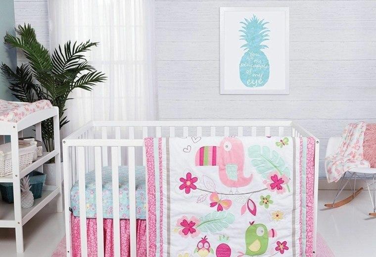 decoracion-de-cuarto-de-bebe-estilo-tropical-detalles-originales