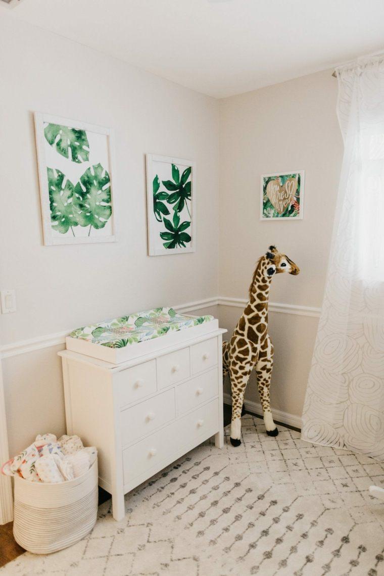 decoracion-de-cuarto-de-bebe-estilo-tropical