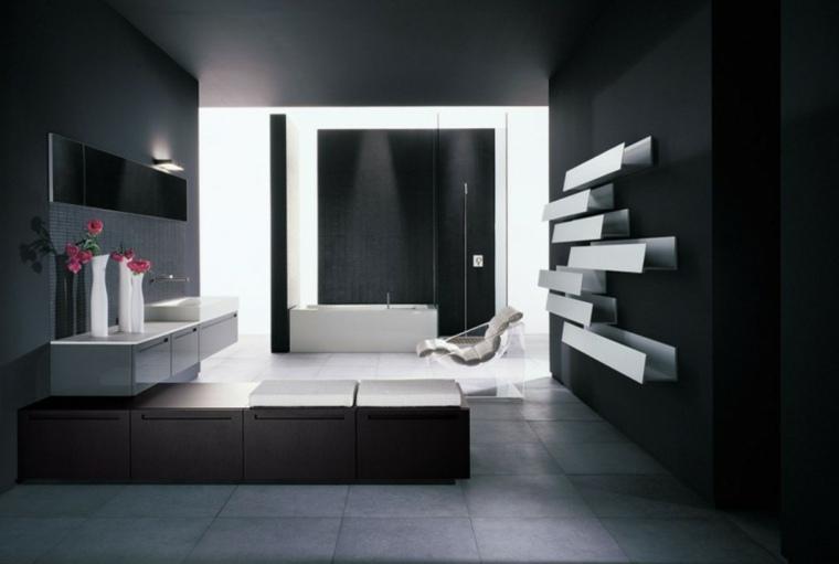 decoracion de interiores-color-negro