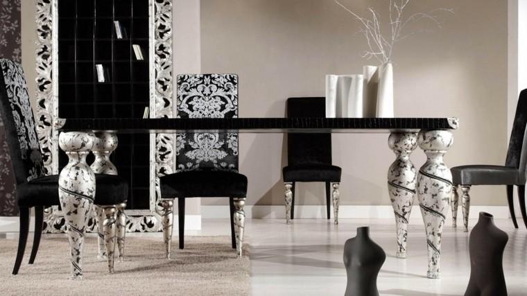 decoracion de interiores-negro-blanco