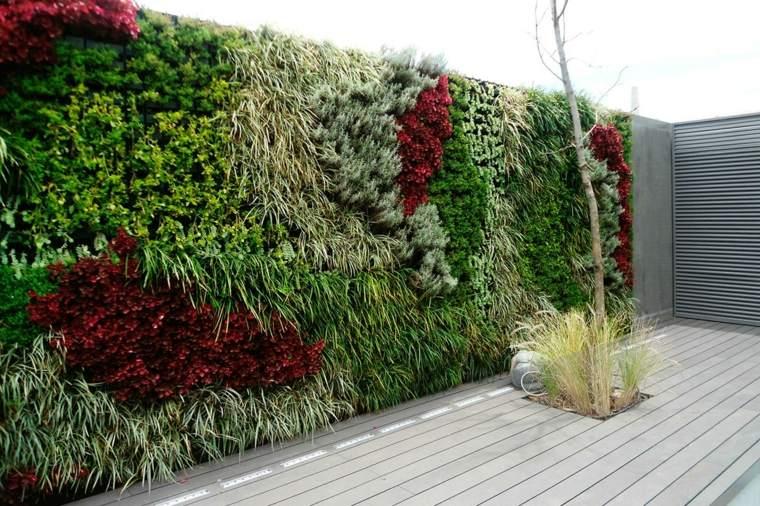 decoracion de jardines-verticales-exteriores