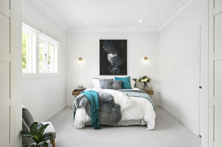 decoracion de salas modernas-color-turquesa