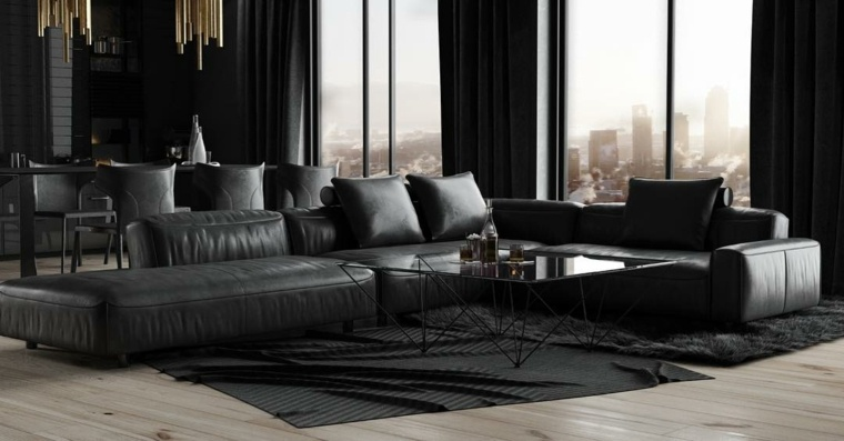 decoracion interior-color-negro